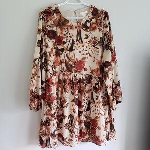 H&M Maternity Boho Flowy Floral Ruffle Mama Dress